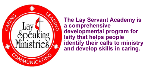 Lay Servants Academy Pastor King